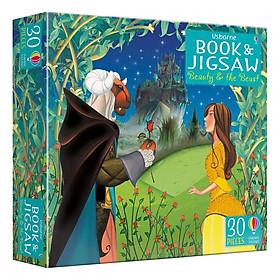 Usborne Book and Jigsaw Beauty and the Beast