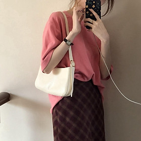 IELGY French stick underarm bag French one shoulder middle ancient bag hand bag female tide