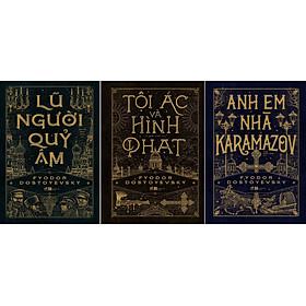 Combo Sách - Tội Ác Và Hình Phạt + Anh Em Nhà Karamazov + Lũ Người Quỷ Ám