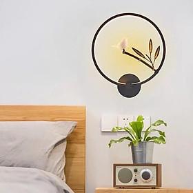 Đèn gắn tường   họa tiết cành trúc- đèn tường Phòng khách, phòng ngủ DD45