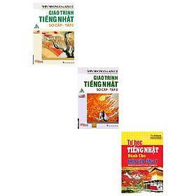 Combo giáo trình tiếng nhật sơ cấp tập 1 và 2(tặng cuốn tự học tiếng Nhật dành cho nhân viên công ty)