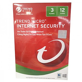 Phần Mềm Trend MicroTM Internet Security 12 - 3PC - 2018