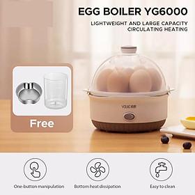 Xiaomi Youpin YouLG  Nồi hơi nấu trứng ,7 Công suất trứng Nồi ,đun trứng nhanh