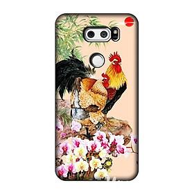 Ốp lưng dẻo hình con gà dành cho LG V30