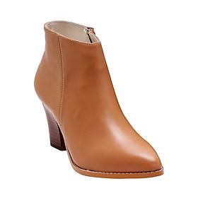 Giày Bốt Nữ Da Thật Gosto Luxury Rebel GS0000315LBR (Nâu Nhạt)