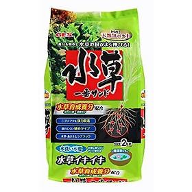 Phân nền thủy sinh GEX túi 2kg, tăng trưởng cho cá, giúp rễ cây phát triển mạnh (Xanh)