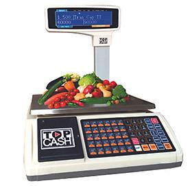 Cân tính tiền in hóa đơn TOPCASH AL-S35 dùng để tính tiền quầy hoa quả, trái cây, thịt cá, hải sản trong Shop, siêu thị mini, trung tâm bán hoa quả, quầy bán thực phẩm - Hàng chính hãng