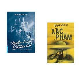 Combo 2 cuốn sách: Muôn Kiếp Nhân Sinh (Bìa cứng) + Xác Phàm