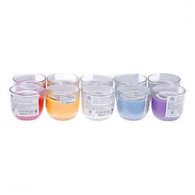 Bộ 10 Ly nến thơm D6H5 Miss Candle FtraMart MIC0605 5.5 x 5 cm (Gồm 5 mùi hương, mỗi mùi 2 ly)