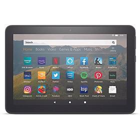 Máy tính bảng Kindle Fire HD8 Model 2020 - 32GB - Hàng nhập khẩu