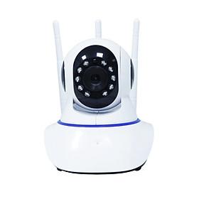 Camera CareCam 3 Râu Trong Nhà 2.0Mpx XF2+3 - Có Cổng LAN - Kết Nối Thông Minh Với Wifi, LAN - Hình Ảnh Cực Sắc Nét - Chính Hãng