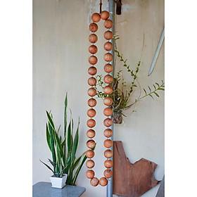 Vòng lắc eo massage 35 hạt gỗ Hương  giúp giảm eo hiệu quả - Sản phẩm y như hinh , hình thật .
