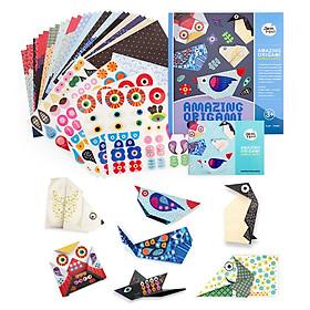 Giấy Xếp Origami Joanmiro Nhiều Màu Cho Trẻ Em