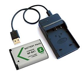 Bộ Pin Sạc cho máy ảnh Sony NP-BX1