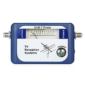 DVB-T Digital Satellite Signal Finder Meter Aerial Terrestrial TV Antenna with Compass TV Reception Systems