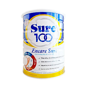 Sữa Sure 100 Ensure care 900g