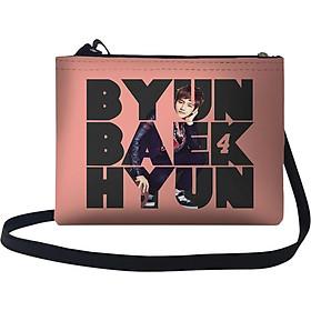 Túi Đeo Chéo Nữ In Hình Exo Baek Hyun - TUKP173