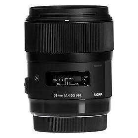 Ống Kính Sigma 35mm F/1.4 Art For Nikon - Hàng Nhập Khẩu
