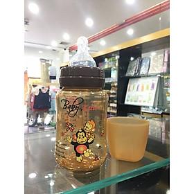 Bình sữa bằng nhựa PP cổ rộng Baby Kute 260ML nhập khẩu từ Thái Lan