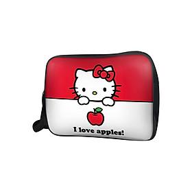 Hình đại diện sản phẩm Túi Đeo Chéo Unisex Hộp Hello Kitty I Love Apple TCCT027