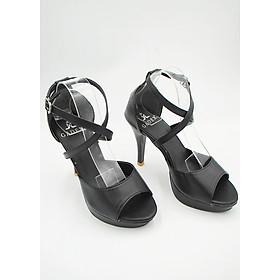 Giày cao gót nữ quai đan chéo nhỏ - LN1691