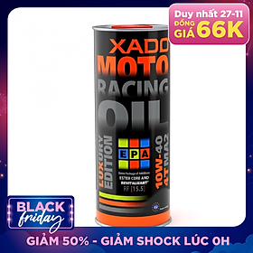 Dầu nhớt Xado Moto Luxury Racing 10w40 1L