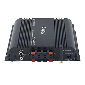 Bộ khuếch đại âm thanh kỹ thuật số Lepy HiFi Stereo 2.1 Bộ khuếch đại âm thanh BT Bộ khuếch đại âm thanh gia đình Âm thanh nổi âm thanh nổi 45W * 2 + 68W * 1