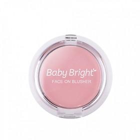 Phấn má hồng Baby Bright Face On Blusher 5g-0