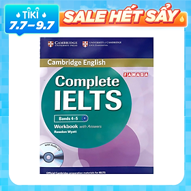 Complete IELTS B1 Workbook with answer & Audio CD