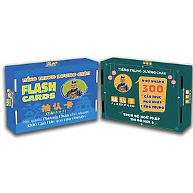 Flashcard - Combo Flashcard Từ Vựng và Ngữ Pháp Tiếng Trung - Phạm Dương Châu
