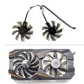 DIY 87MM T129215SU PLD09210S12HH 4PIN GTX1060 Cooling Fan For GIGABYTE GTX 1050 1060 RX580 570 RX470 XFX RX480 HISR X470 Fans