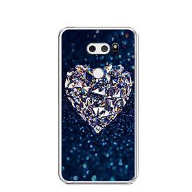 Ốp lưng dẻo cho điện thoại LG V30 - 0420 HEART11 - Hàng Chính Hãng