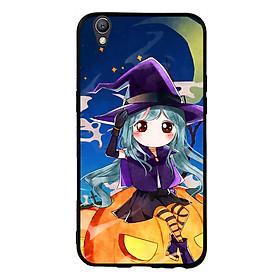 Hình đại diện sản phẩm Ốp lưng Halloween viền TPU cho điện thoại Oppo Neo 9 - Mẫu 04