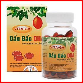 [COMBO 2] hộp thực phẩm chức năng Dầu gấc bổ mắt DHA Vita-Ga