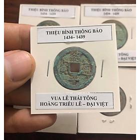 Đồng xu Lê Sơ, THIỆU BÌNH THÔNG BẢO 1434 - 1439, Vua Lê Thái Tông, ĐẠI VIỆT