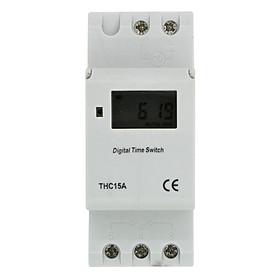 Công tắc hẹn giờ lập trình điện tử THC15A 220V/16A