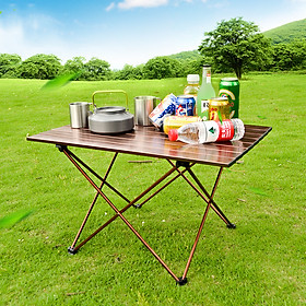 Fun Portable Table Folding Camping Hiking Desk Traveling Outdoor Picnic Ultra-light Table