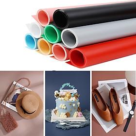 Phông nền nhựa PVC trơn kích thước 70x140cm treo giá khung chụp ảnh sản phẩm đủ màu sắc