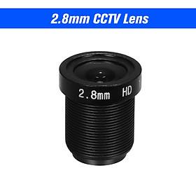 """1080P 2.8mm CCTV Security Camera Lens M12 Aperture F1.8 1/2.7"""" Image Format HD 2.0 Megpaixel Surveillance Camera Lens"""