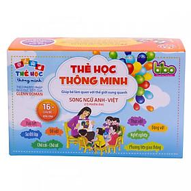 Bộ 416 thẻ học song ngữ Anh - Việt hữu ích cho bé