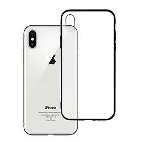 Ốp lưng Iphone X / XS - Bề mặt nhám chống vân tay, lưng cứng, viền TPU dẻo - 02007 - Hàng Chính Hãng