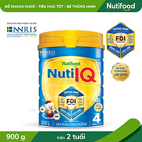 Sữa Bột Nuti IQ Gold 4 900g