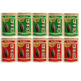 Hạt hướng dương Chacheer 130g - 5 Dừa+5 Ngũ vị ( Lốc 10 gói )