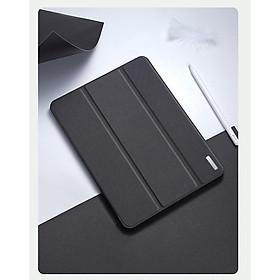 Bao da chống sốc kèm khay đựng bút cho Apple iPad Gen 8 10.2 inch thương hiệu DUX DUCIS Domo Series cao cấp - Hàng nhập khẩu.