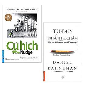 Combo 2 Cuốn Sách Kỹ Năng Làm Việc Thay Đổi Con Người Bạn: Cú Hích (Tái Bản) + Tư Duy Nhanh Và Chậm (Tái Bản 2019) / Tặng Kèm Bookmark Happy Life