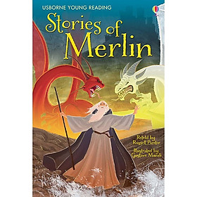 Usborne Young Reading Series One: Stories of Merlin