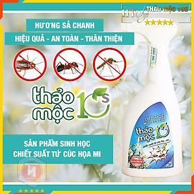 Bình xịt diệt côn trùng 500ml - HT SYS - Thảo Mộc 10S - Bình xịt diệt côn trùng muỗi, kiến, gián,mối