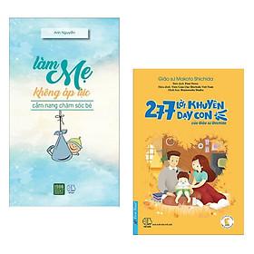 Combo Sách Nuôi Dạy Con Theo Phương Pháp Nhật Bản: Làm Mẹ Không Áp Lực + 277 Lời Khuyên Dạy Con Của Giáo Sư Shichida (Sách Được Phụ Huynh Yêu Thích Nhất / Tặng Kèm Bookmark Happy Life)