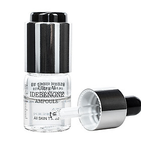 Một lọ tinh chất chống lão hóa và sáng da Idebenone Ampoule Ultra V DDK 6ml
