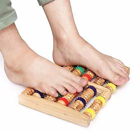 Dụng cụ massage chân bằng gỗ SKU025